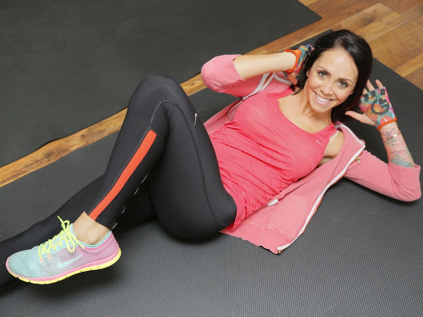 PIC FROM CATERS NEWS - (PICTURED: Jenna Thompson in her home gym) - A stunning mum who survived a horror birth has defied doctors by making a miraculous return to BODYBUILDING. Jenna Thompson, 33, from Essex, lost three pints of blood and suffered severe internal damage when she gave birth to Emilia, now 14-months-old. Super-fit Jenna was devastated when doctors told her shed never compete in bodybuilding due to the damage she had suffered. But the defiant mum-of-one had trained throughout her pregnancy to maintain her muscles and refused to give up on her dream. SEE CATERS COPY.
